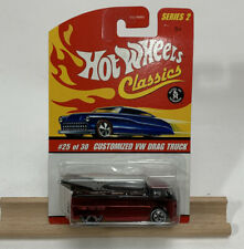 Hot Wheels Classics Series 2 Customized VW Drag Truck Red (866)