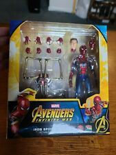 MAFEX Avengers Infinity War Iron Spider  No. 81, Complete With Box Authentic USA