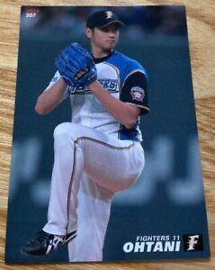 Calbee Professional Baseball Chips Shohei Otani Card Nippon Ham Fighters