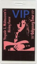 YNGWIE MALMSTEEN 1988 Odyssey Tour Laminate Backstage Pass!!! concert stage OTTO