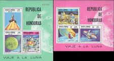 HONDURAS 1969 SPACE = APOLLO MOON program 2 S/S MNH CV.$34.00