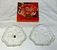 Set of 2 Mikasa Carolers Sweet Candy Dishes w/1 Original Box - SA 987/210