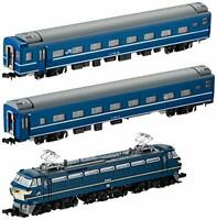 TOMIX N gauge EF66 Blue Train set three-car 92,332 model railroad passen... JP-R