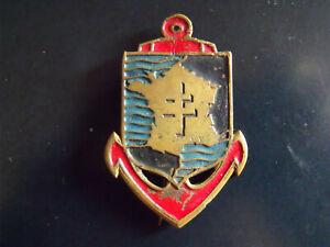 Insigne Corps Expéditionnaire Français en Extrème Orient  (Fab. anglaise?)