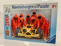 Ravensburger Formula One Team Race Car XXL Jigsaw Puzzle (200 Pieces) 126781 New