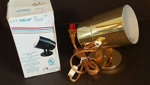 NEW IN BOX Lite Source LS-113BLK Pin-Up Wall Lamp POLISHED BRASS