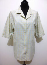 LES COPAINS VINTAGE '80 Camicia Donna Cotton Woman Shirt Sz.XL - 48