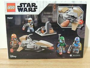 LEGO Star Wars 75267 Mandalorian Battle Pack 4 Minifigures & Speeder & Fort NEW