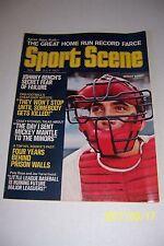 1971 Sports Scene CINCINNATI Reds JOHNNY BENCH Pete ROSE Casey STENGEL Joe TORRE