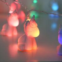 Battery Power Indoor Unicorn LED Fairy Night Light   Children Gifts Bedroom