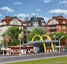 Vollmer kit 47766 NEW N McDonald's fast food restaurant with McCafé
