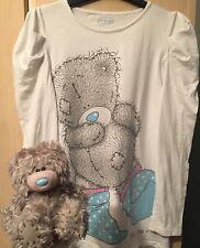NEXT 'Me To You' Tatty Teddy Pyjama Top + Fluffy Toy Bear + Mirror Bundle Age 13