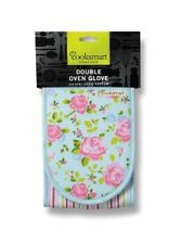 Country 100% Cotton Cooksmart Oven Mitts and Pot Holders