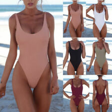 Frauen Badeanzug rückenfreie Badebekleidung Summer Beach Badebekleidung