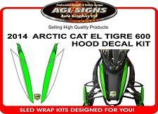 2014 ARCTIC CAT EL TIGRE 600 DECAL KIT ,  6000 sticker