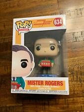 Funko Pop Television Mr Rogers with Trolley #634 NEW in Manufacturers Package