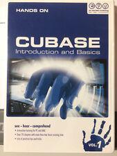 "Hands on Cubase Vol.1, English Version, ""NEU"", inkl. Versand"