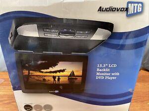 "AUDIOVOX MTG AVXMTG13UA 13.3"" LCD Backlit Monitor And Dvd Player New"