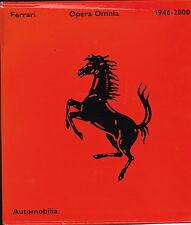 livre automobile: Bruno Alfieri: Ferrari: opera omnia 1946-2000. automobilia