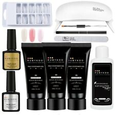 Poly Gel Nail Extension Kit With Lamp