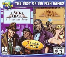 NICK CHASE: A DETECTIVE STORY + THE DEADLY DIAMOND Hidden Object PC Game NEW
