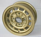 Lancia Fulvia Coupe Series 1 Gold Alloy Campagnolo Wheel 6x13 Reproduction New