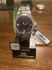 Casio Men'S Edifice Quartz Two Tone Stainless Steel 100m Watch EF106