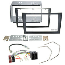 OPEL CORSA C 00-04 2-DIN radio de voiture Set d'installation Câble adaptateur