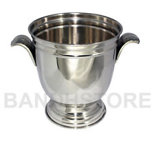 More details for champagne wine bucket nickel plated metal bar cooler ice bucket