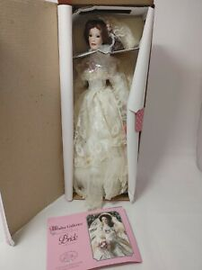 "Paradise Galleries The Victorian Bride 14"" Porcelain Doll Patricia Rose"