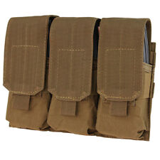 Condor MA58 COYOTE BROWN MOLLE PALS Triple M4 M16 Mag Magazine Pouch Holster