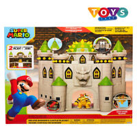 Nintendo Super Mario Bowsers Castle DELUXE Playset New Free Delivery Uk
