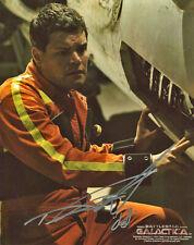 Battlestar Galactica Aaron Douglas 'Chief Galen Tyrol' 8X10 Color Photo ~ Signed
