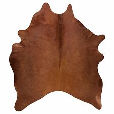 Ikea Koldby Cowhide Rug, Brown cow hide