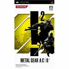 Used PSP  Konami Metal Gear Acid 2   SONY PLAYSTATION JAPAN IMPORT