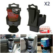 2x Universal Car Cup Holder Drink Bottle Door Window Holders Can Stand