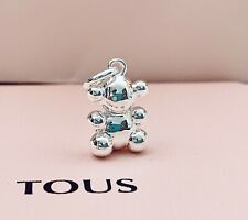 914264510 Original TOUS Silver Bubble Bear Pendant