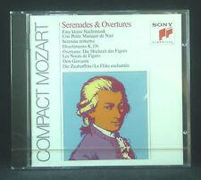 CD MOZART - serenades & ouvertures, Szell, Walter, Zukerman, Brico