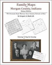 Family Maps Morgan County Indiana Genealogy IN Plat