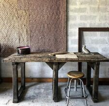 ANTIQUE FRENCH WOODEN  PRIMITIVE  TABLE