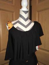 SOPHIA CRISTINA TALL WOMEN'S BLACK AND GOLD DRESS SIZE 8 NWT