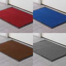 LARGE&SMALL RUGS BACK DOOR HALL KITCHEN HEAVY DUTY NON SLIP RUBBER BARRIER MAT
