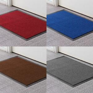 Non Slip Rubber Mat Door Mats Indoor Outdoor Washable Heavy Duty Rug Mat 40X60