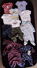 Just For You Baby clothes 3 M good condition 2 pants sets 3 sleepers very cute