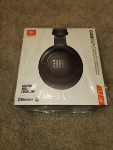 NEW SEALED JBL Club 950NC Black Wireless Noise Cancelling Over-Ear Headphones