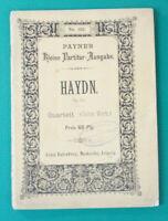No.162 Payne´s kleine Partitur Ausgabe HAYDN.N OP.51 Notenbüchlein B-16886