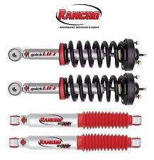 Rancho 2 Front Strut Assemblies & 2 Rear Shock Absorbers KIT for 09-13 F150 2WD