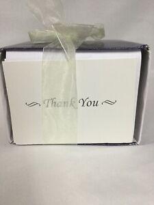 Wilton W8151 Wedding Shower Birthday  Thank You Cards & Envelopes 100 Pack -
