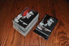 James Bond World is Not Enough 90 card base set + 5 wrappers