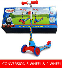 THOMAS & FRIENDS MULTI-FUNCTION SCOOTER KIDS PUSH KICK 2 3 WHEEL CAR RIDE ON TOY